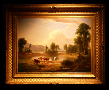 """View of Esopus Creek"" by Durand"