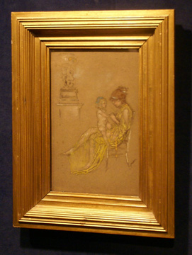 """Mother and Child"" by Whistler"