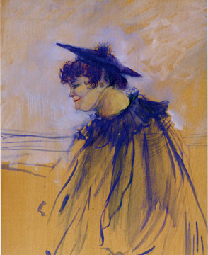 """Au 'Star,' Le Havre (Miss Dolly, chanteuse anglaise)"" by Toulouse-Lautrec"