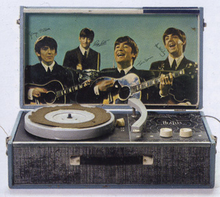 Beatles portable record player
