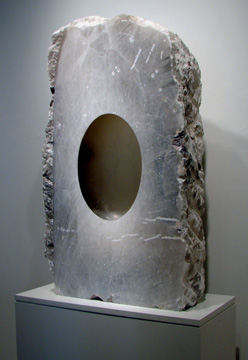 """Untitled"" alabaster sculpture by Kapoor"