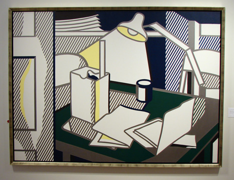 """Still Life with Lamp"" by Lichtenstein"