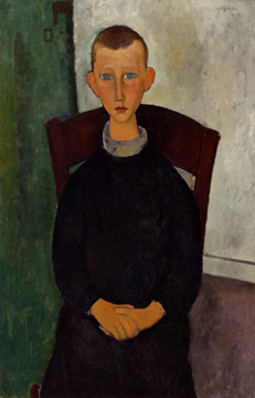 """Le Fils du Concierge"" by Modigliani"