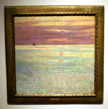 """Sunset at Sea"" by Hassam"