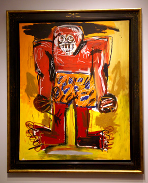 """Sugar Ray Robinson"" by Basquiat"