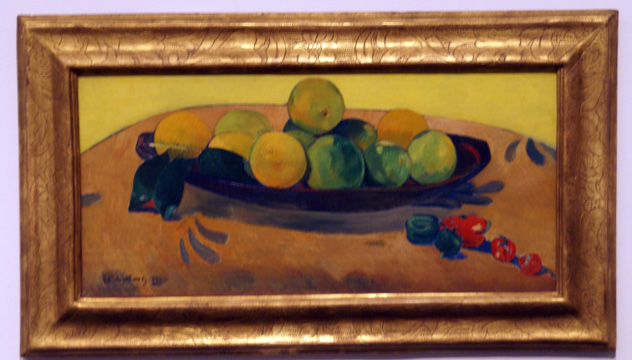 """Nature morte aux fruits et piments"" by Gauguin"