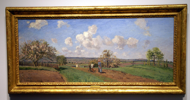 """Printemps"" by Pissarro"