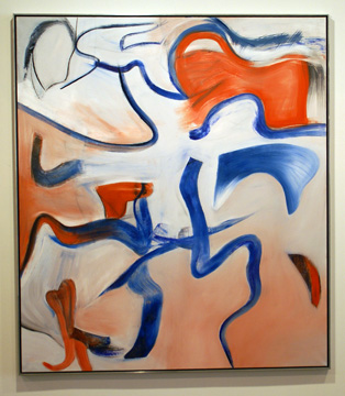 """Untitled XVI "" by de Kooning"