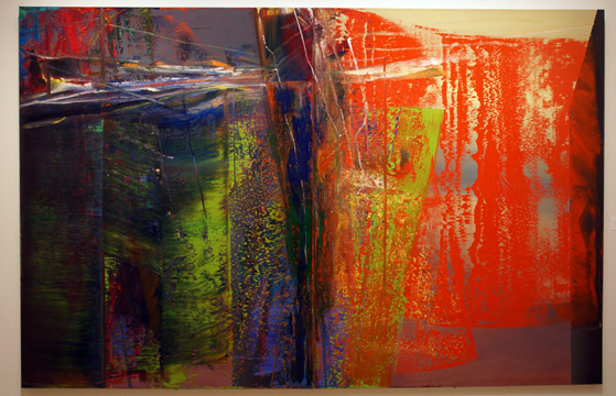 """Abstract Painting (596)"" by Richter"