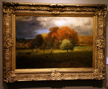 """Tenafly, Autumn,"" by Inness"