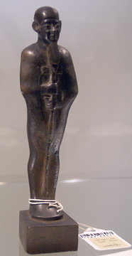 Egyptian bronze of Ptah
