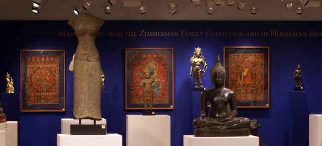 Masterpieces of Himallayan Bronzes from Zimmerman collection