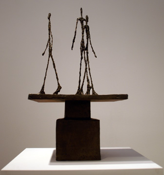 """Trois hommes qui marchent"" by Giacometti"