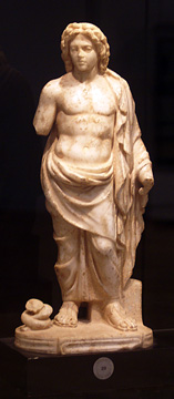 Young Asklepios statue