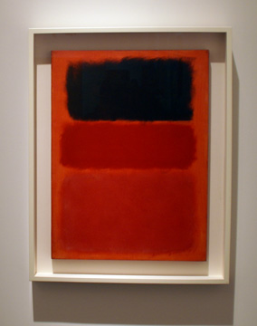 """Untitled (Red/Black"" by Rothko"