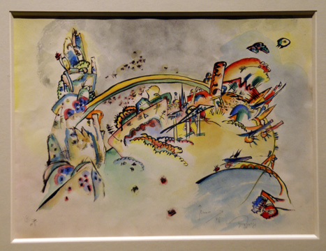 """Untilted"" by Kandinsky"