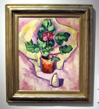 """Still Life, Geraniums"" by Hartley"