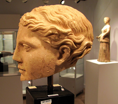 Hellenistic marble head of Aprhodite