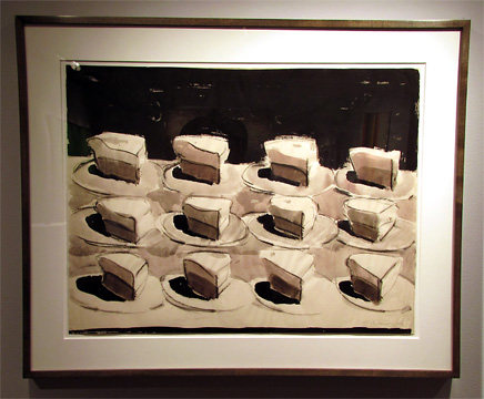 """Shelf of Pies"" by Thiebaud"
