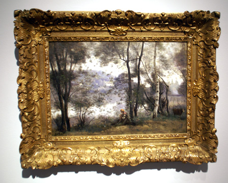 """Veille d'Avray"" by Corot"