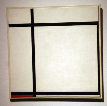 """Composition II, with Red"" by Mondrian"