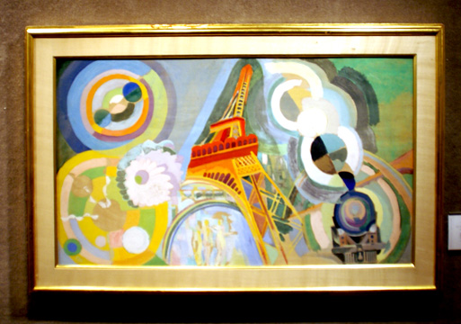 """Air, fer and eau, etude"" by Delaunay"