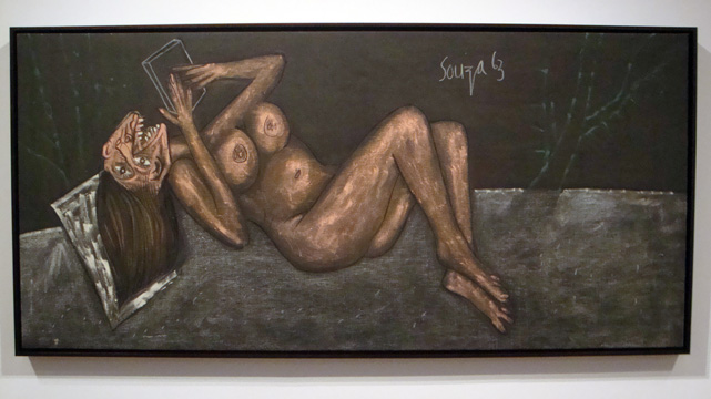 """Nude with Mirror"" by Souza"