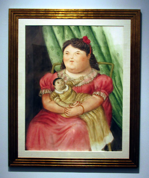 """Mother and Child"" by Botero"