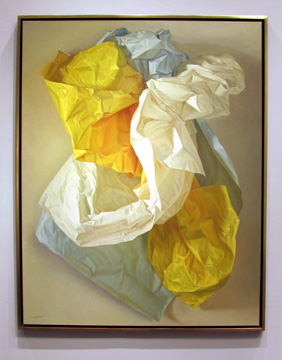 """White, Blue and Yellow Papers"" by Bravo"