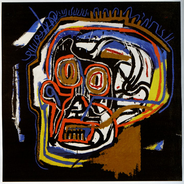 Untitled head after Jean-Michel Basquiat