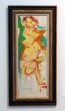"""Bewitched Woman"" by de Kooning"
