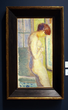 """Nu de Profil"" by Bonnard"
