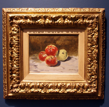 """Quatre Pommes"" by Manet"