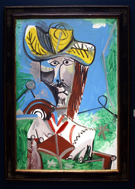 """Buste d'Homme"" by Picasso"
