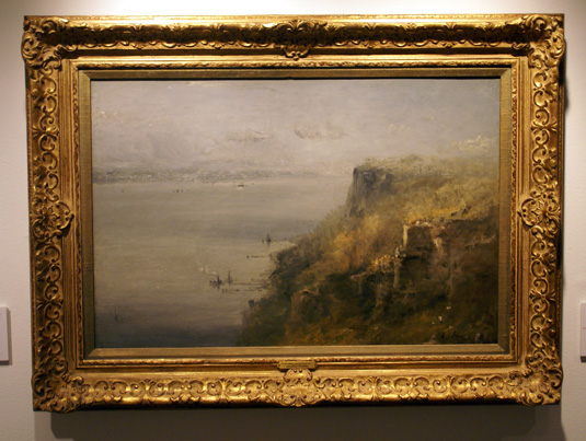 """Palisades on the Hudson"" by Inness"