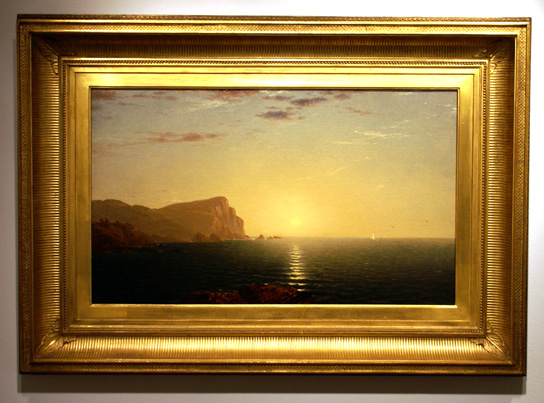 """New England Sunrise"" by Kensett"