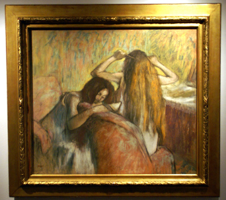 Two women by Degas