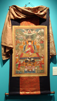 Thangka of the Ninth Karmapa, Wangchug Dorje