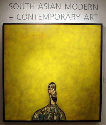 """Untitled (Bust of a Man)"" by Souza"