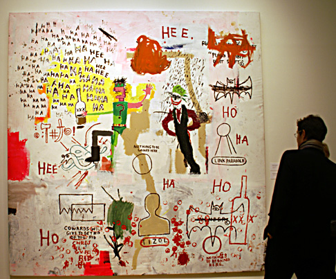 """Riddle Me This, Batman"" by Basquiat"