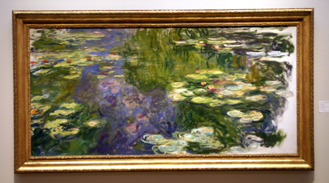 """Le Bassin au Nymphéas"" by Monet"