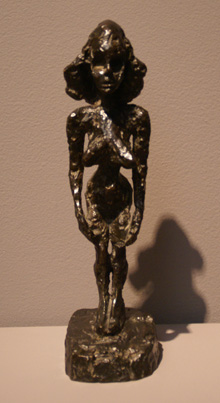 """Femme (Nu Debout IV)"" by Giacometti"
