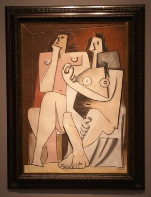 """Homme et Femme"" by Picasso"