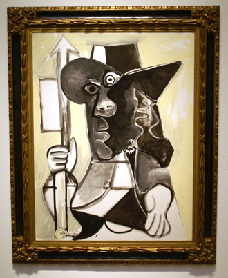 Man by Picasso