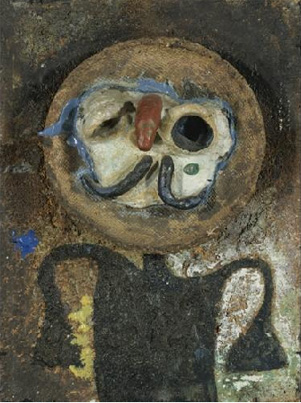 """Personage au Nez Rouge"" by Miró"