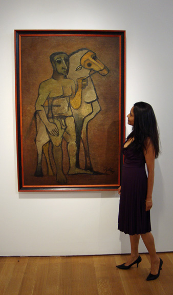 Deepanjana Klein and untitled work by Mehta