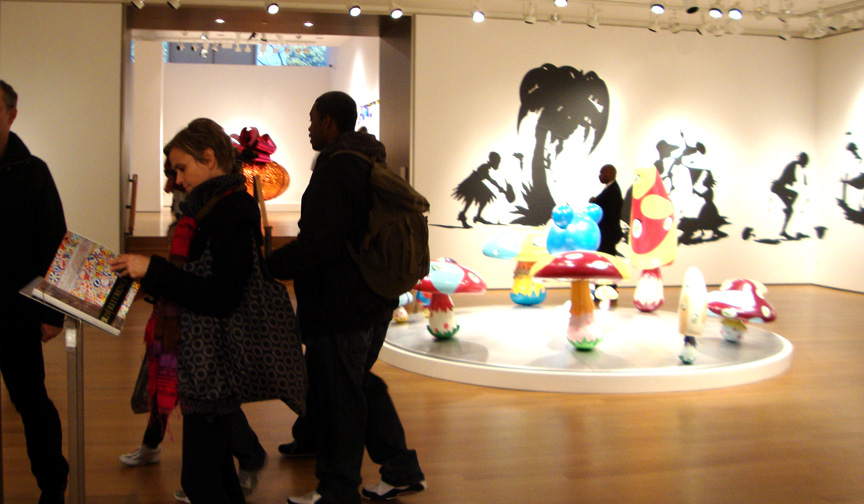 Works by Walker and Murakami