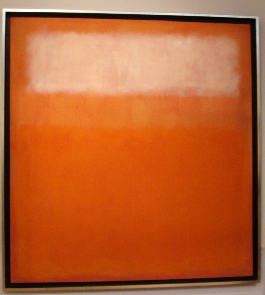 """White Cloud"" by Rothko"