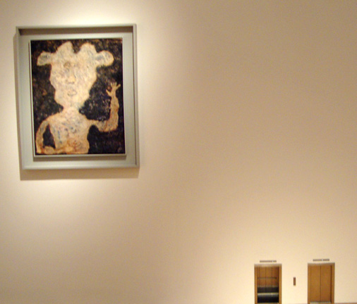 Dubuffet and Cattalan