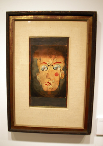 Portrait by Klee
